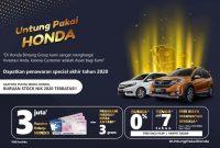 Promo Spesial Ahir Tahun 2020 Honda Madiun